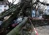 Orkan Fryderyka: Wzrosła liczba ofiar silnego wiatru