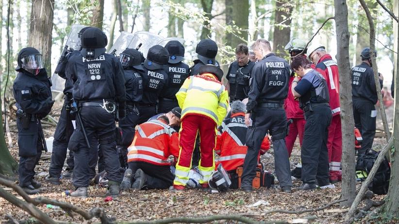 Pacyfikacja obozu ekologów w Niemczech. Zginął dziennikarz i aktywista