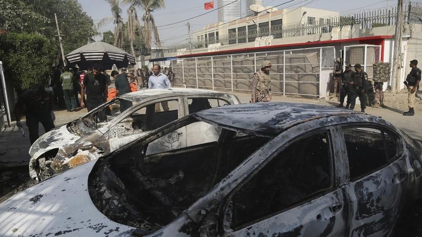 Pakistan. Zamach na chiński konsulat w Karaczi. Do ataku przyznali się separatyści