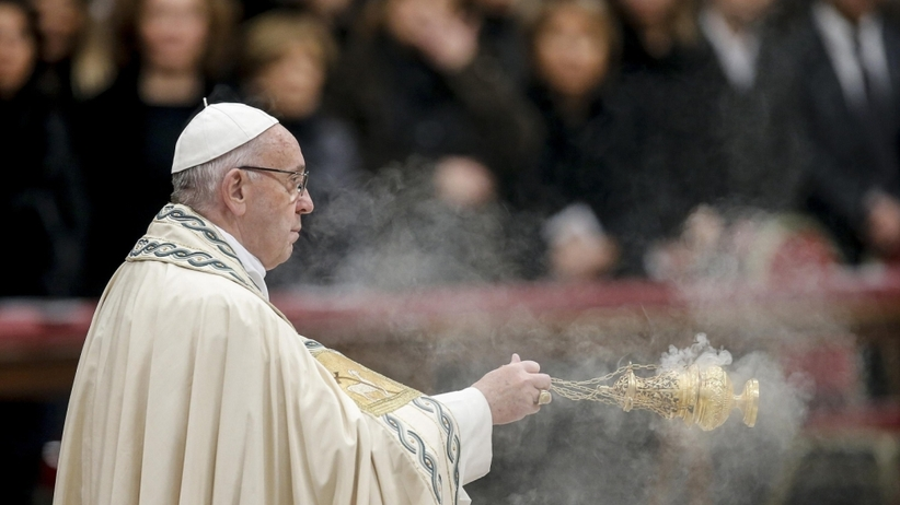 Papież bezlitośnie podsumowuje rok 2017: Zraniony przez ludzi uczynkami śmierci i kłamstwami