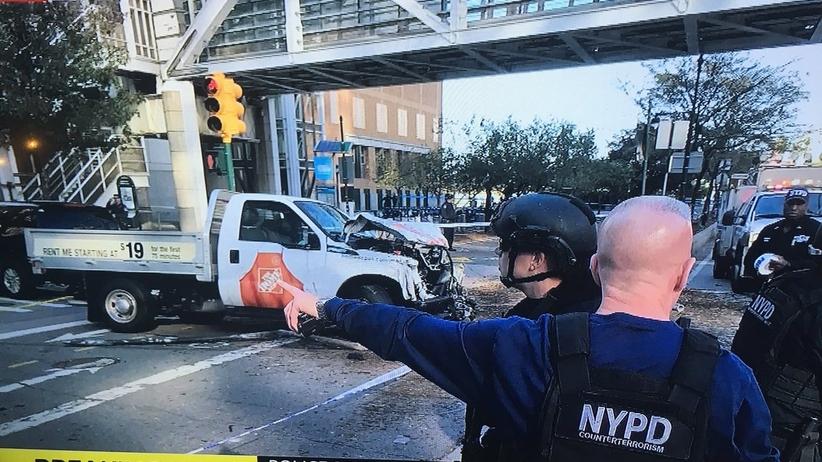 Samochód wjechał w tłum ludzi w Nowym Jorku. 8 osób nie żyje. Kierowca zatrzymany