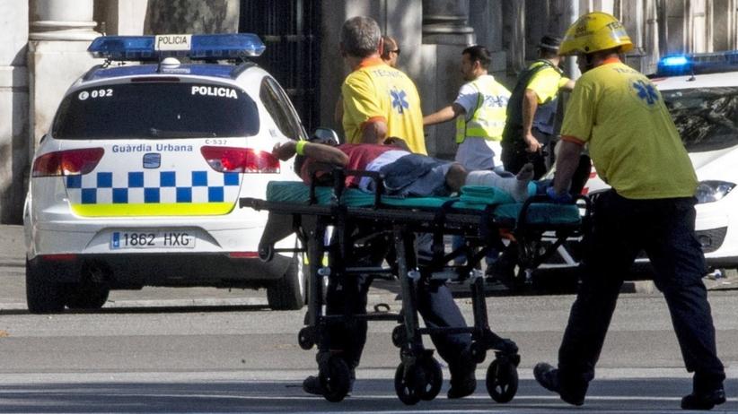 PILNE: atak terrorystyczny w Barcelonie. Furgonetka wjechała w tłum
