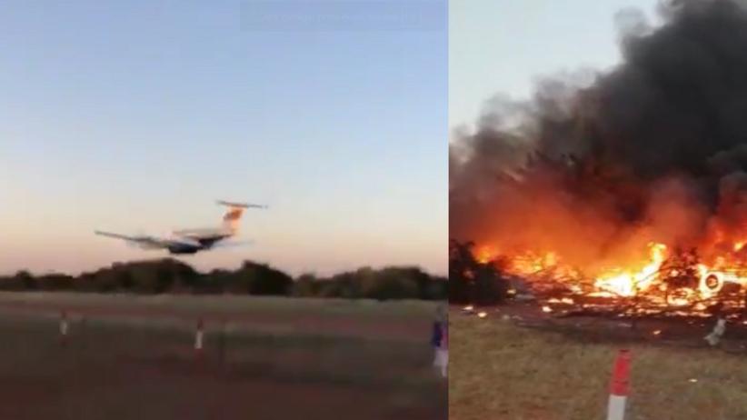 Pilot wleciał samolotem w budynek. Wcześniej pokłócił się z żoną [WIDEO]