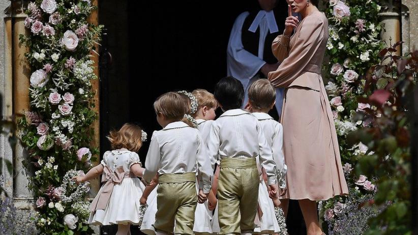 Pippa Middleton wzięła ślub. Królewskie dzieci skradły show [FOTO]