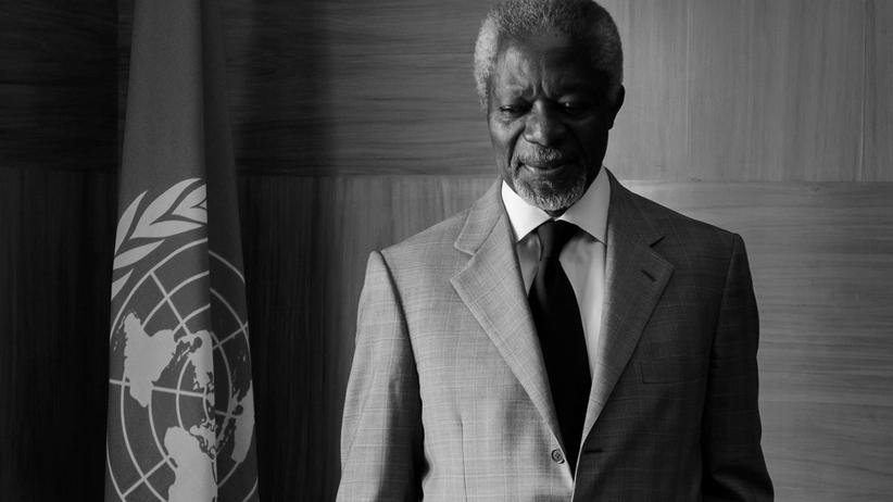 Po śmierci Kofiego Annana napływają kondolencje z całego świata