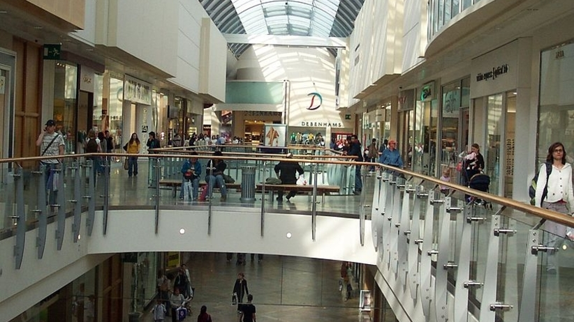 Centrum handlowe oracle Reading
