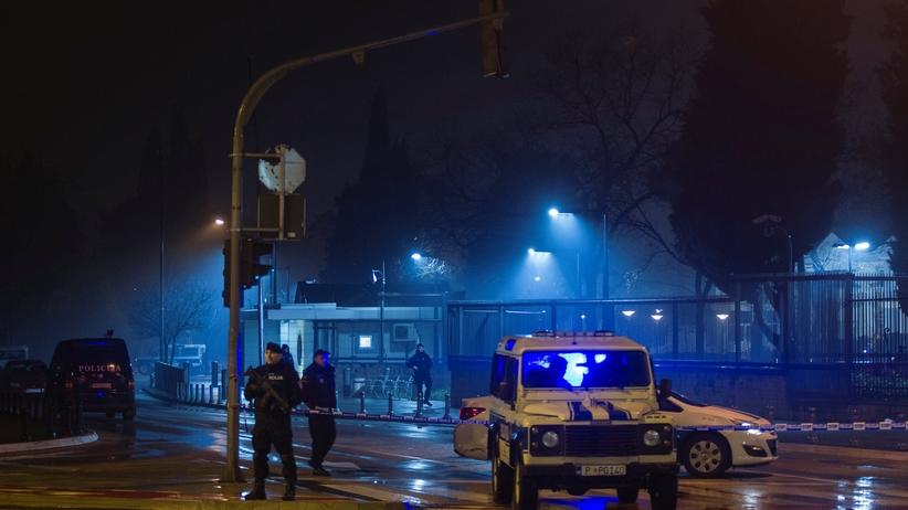 Atak samobójczy w pobliżu ambasady USA w Czarnogórze