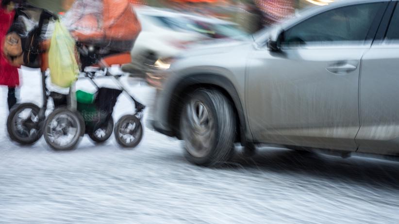 Podkarpackie. Kobieta potrąciła wózek z własnym dzieckiem