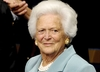 Ciężki stan zdrowia Barbary Bush. Zrezygnowała z leczenia