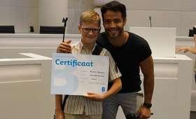11-latek z Polski został mistrzem holenderskiej ortografii