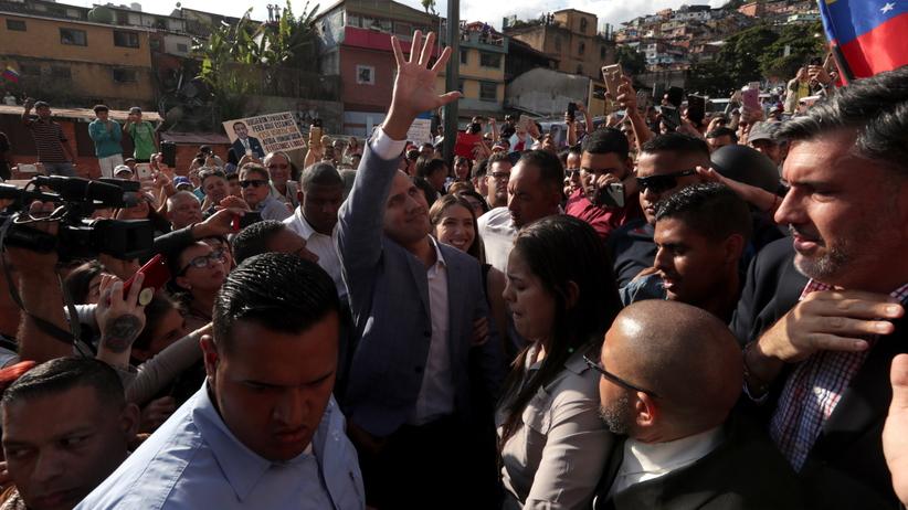 Kryzys w Wenezueli. Guaido wzywa do marszu na pałac prezydencki