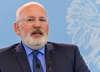 Konsternacja w PiS. Timmermans chwali rząd i krytykuje Platformę