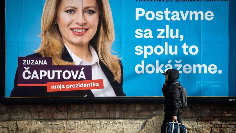 Słowacja wybiera prezydenta. Kobieta faworytką
