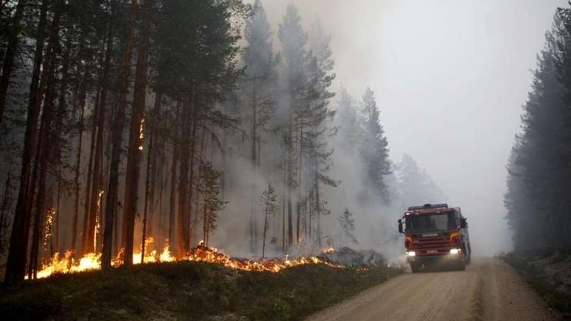 Polscy strażacy w Szwecji: Sytuacja się pogorszyła, ewakuowano jedną wieś