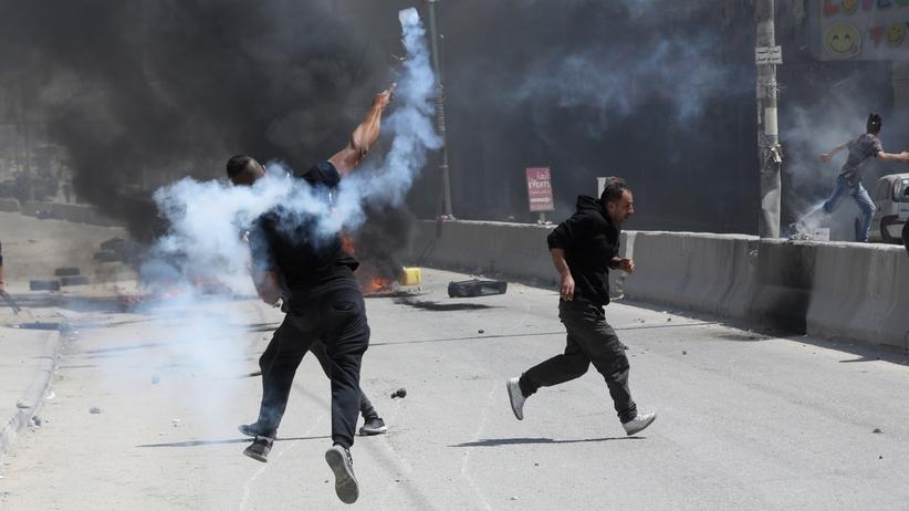 Ponad 40 Palestyńczyków zginęło w starciach z siłami Izraela w Strefie Gazy