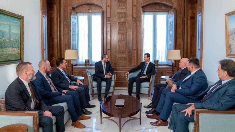 Poseł Kukiz'15 spotykał się z Baszarem el-Asadem i działaczem Hezbollahu. Zajmie się nim ABW