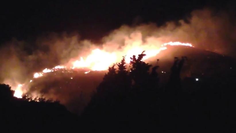 Sycylia w ogniu. 700 turystów ewakuowanych