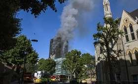 Polska rodzina poszkodowana w pożarze londyńskiego wieżowca