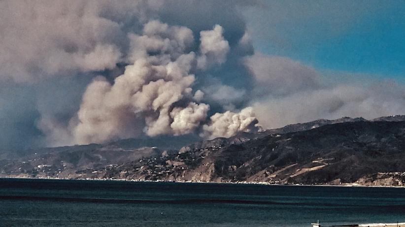 Pożary w Kalifornii: ogień w domu Kim Kardashian
