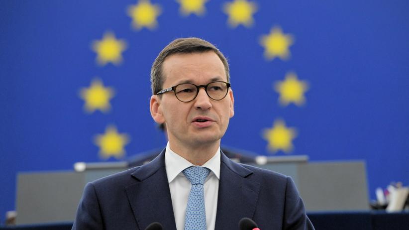 Premier Morawiecki w europarlamencie. Pytania o praworządność