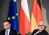 Prezydent Andrzej Duda w Niemczech mówił o żarówkach, Unii i brexicie