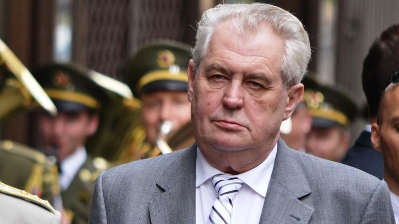 Prezydent Czech odrzucił kwotowe przyjmowanie uchodźców