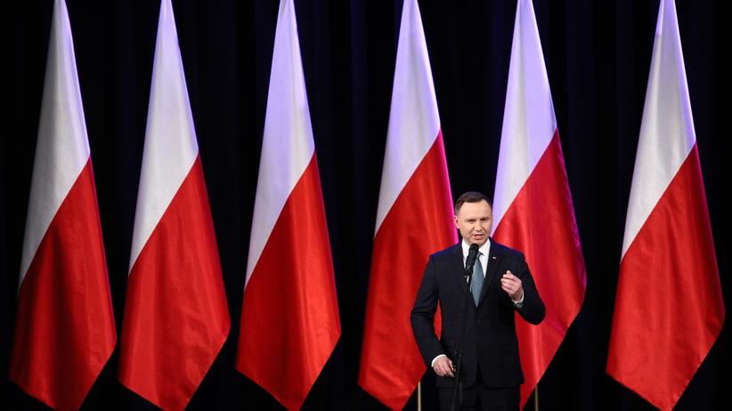 Prezydent Duda na Litwie: Liczę, że dobre relacje z Litwą poprawią sytuację Polaków