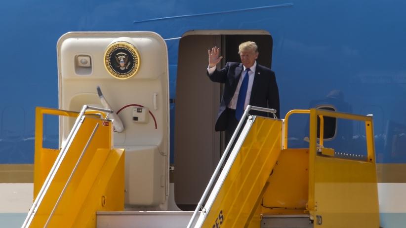 Trump z wizytą w Wietnamie. Przybył na szczyt APEC