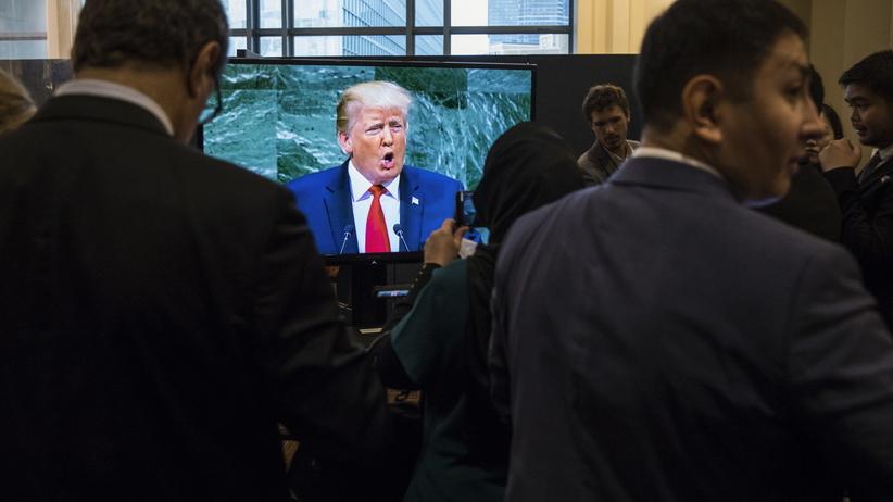 Prezydent USA Donald Trump zachwalał Polskę na forum ONZ