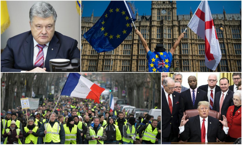 Spodziewane wydarzenia na świecie w 2019 roku. Brexit, Donald Trump i żółte kamizelki
