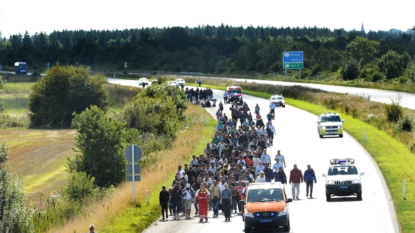 Uchodźcy protestują. Przeciwko pozbawianiu ich mieszkań