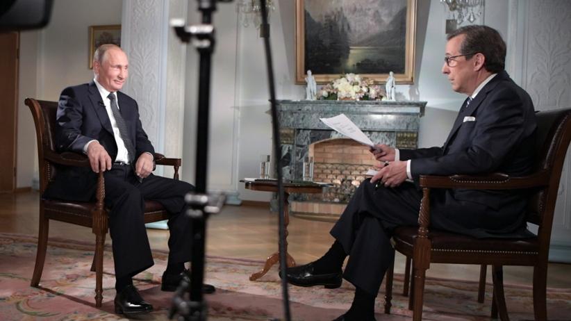 Putin w wywiadzie zareagował śmiechem na zarztuty wobec Rosji