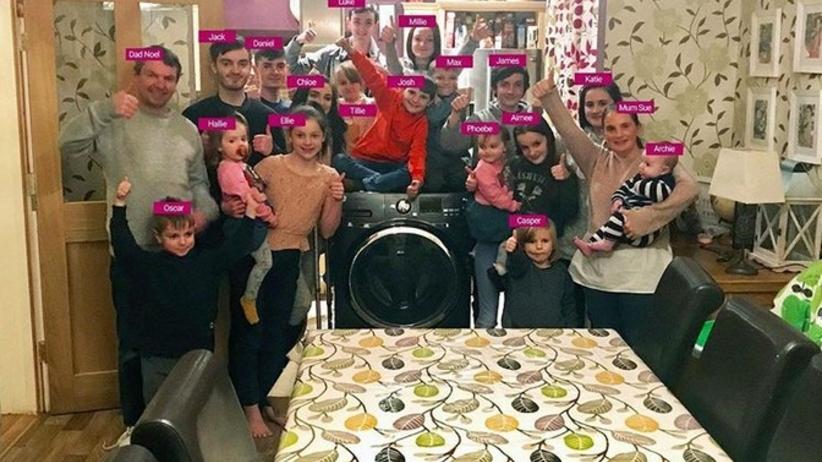 Rodzina Radfordów: 21 dzieci