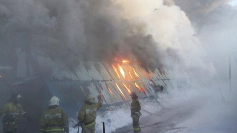 Nowosybirsk: Pożar w fabryce. Wiele ofiar śmiertelnych