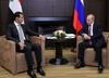 Soczi: Władimir Putin spotkał się z Baszarem el-Asadem