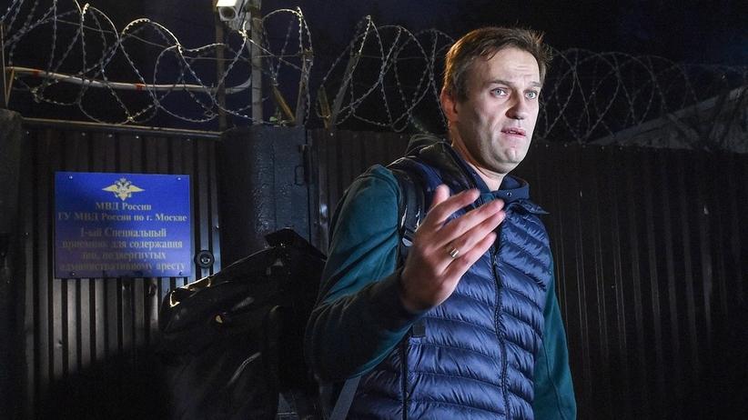 Rosja. Aleksiej Nawalny wyszedł na wolność z aresztu