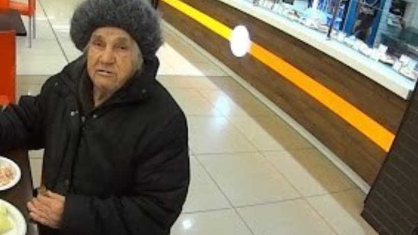 Bezdomna kobieta