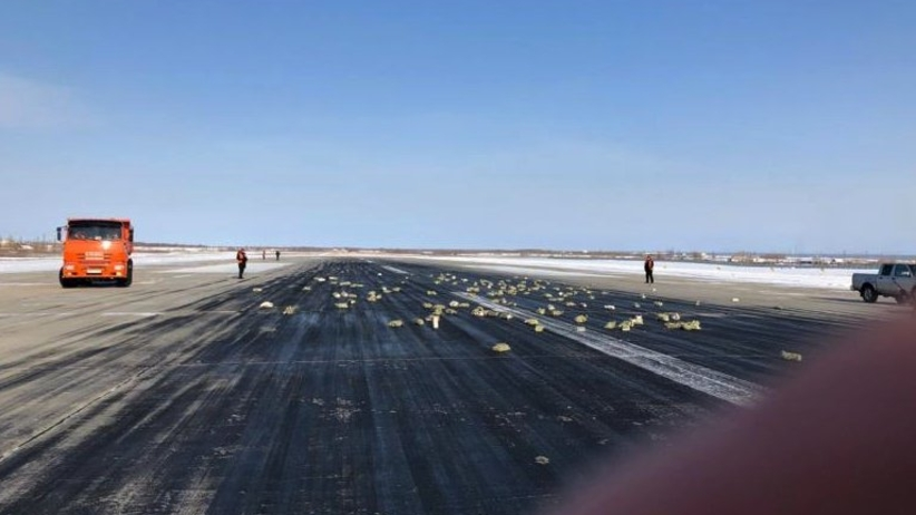 9 ton metali szlachetnych wypadło z rosyjskiego samolotu. Złoto leciało z nieba