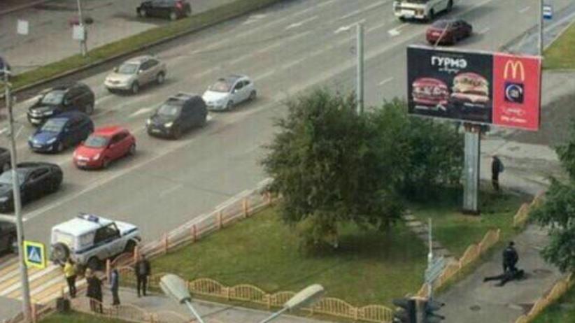 Atak nożownika w Rosji. Policja zastrzeliła napastnika [WIDEO]