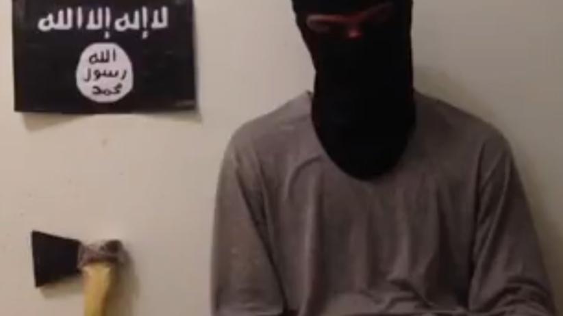 Opublikowano film z nożownikiem z Surgutu przysięgającym na wierność IS