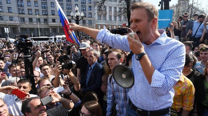Policja zatrzymała Aleksieja Nawalnego