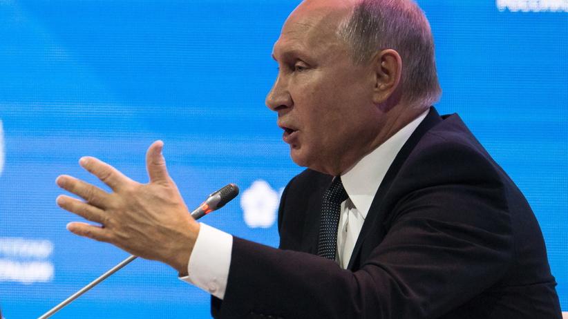 Rosja. Prezyzydent Władimir Putin nazwał Skripala kanalią i zdrajcą