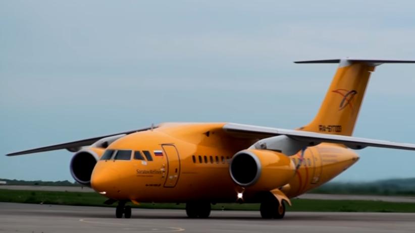 Katastrofa w Rosji. Rozbił się samolot z 65 pasażerami