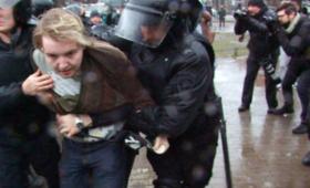 Protesty w Petersburgu. Służby aresztowały demonstrantów