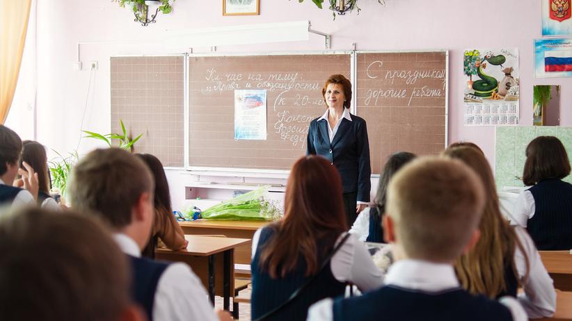 Rosja. Uczniom z Sankt Petersburga zadano napisanie listu do ojca na froncie