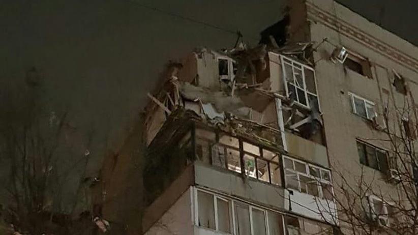 Wybuch gazu w bloku mieszkalnym w mieście Szachty. Akcja ratunkowa