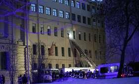 Zawalił się budynek uniwersytetu w Petersburgu. Trwa akcja ratunkowa