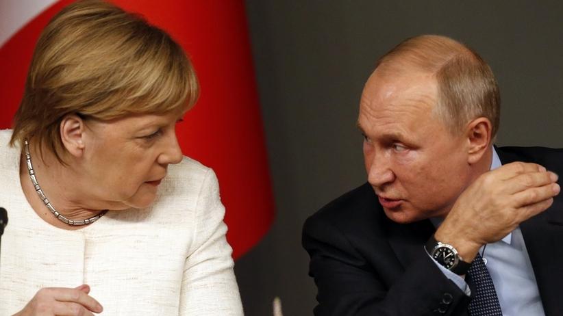 Merkel po rozmowie z Putinem. Tematem incydent w Cieśninie Kerczeńskiej