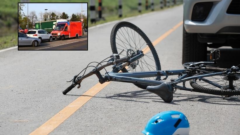 Rozpędzony tir potrącił 11-latka. Chłopiec zginął na oczach swojej matki