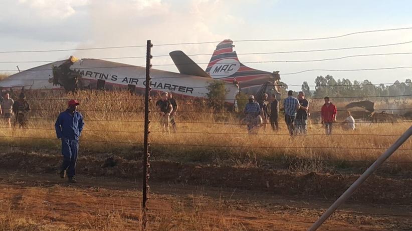 RPA. Samolot rozbił się w okolicach Pretorii